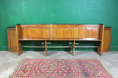 Long Vintage Pew, Bench, Pine, Refurb Project, Kitchen Seating, Farmhouse Church