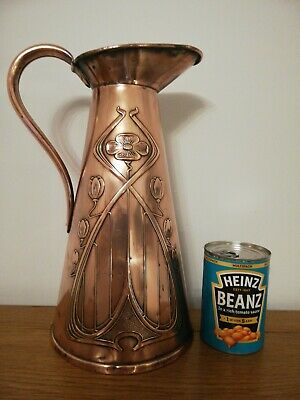 Joseph Sankey Art Nouveau Large Copper 7 PINT No 6 Jug / Pitcher Watertight