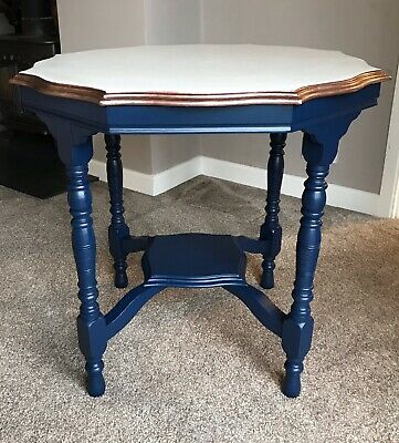Art deco Arts & Crafts Octagonal Side Table
