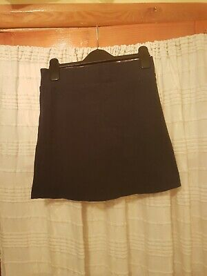 M&S Girls Navy Gym Sports Skort Shorts Age 12. Great Condition