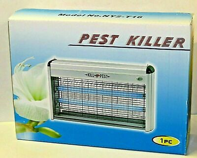 Electric Insect Fly Killer Bug Zap Zapper Flying Pest Catcher Trap 16w