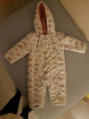 Snow Suit Baby Girl 9-12 Months John Lewis