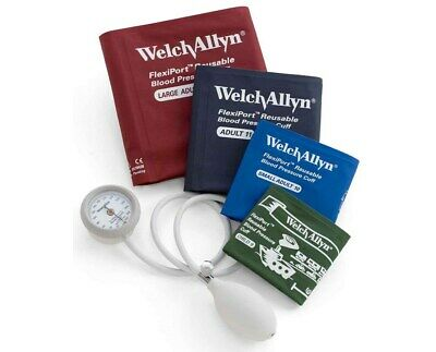WELCH ALLYN DS44-MC DURASHOCK INTEGRATED ANEROID SPHYGMOMANOMETER Cuff Kit