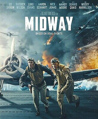Midway Blu-ray Only, Please read