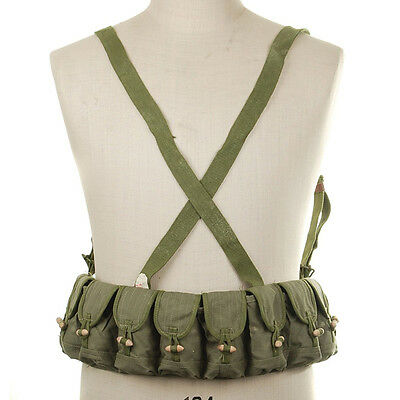 Chinese Military Sks Type 56 Semi Ammo Chest Rig Bandolier Pouch
