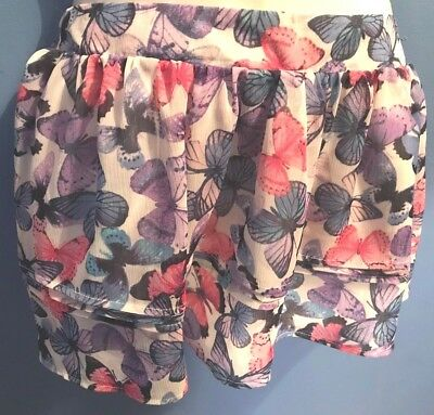 Girls Multi Short Skirt - '1989 Place' Size 1012