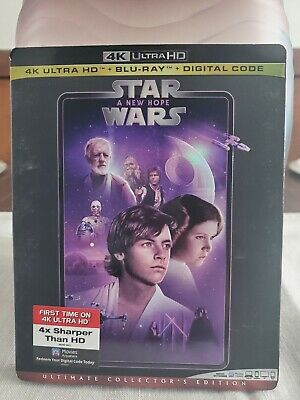 Star Wars Episode IV - A New Hope (4K Blu-ray/Blu-ray/No Digital)
