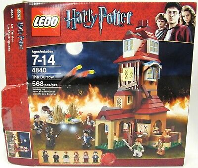 LEGO 4840 Harry Potter The Burrow 100% Complete With Instructions And Box