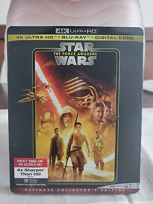 Star Wars Episode VII - The Force Awakens (4K Blu-ray/Blu-ray/No Digital)