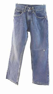 Arizona Boys size 10S Cotton Medium Wash 5-Pocket Straight Leg Jeans Pant Blue