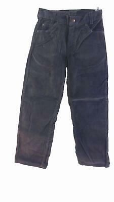 Arizona Boys size 9 Corduroy Color Denim 5-Pocket Straight Leg Jeans Pant Navy