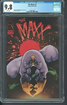 The Maxx 1 Cgc 9.8 3/1993 Sam Keith Movie Coming Soon