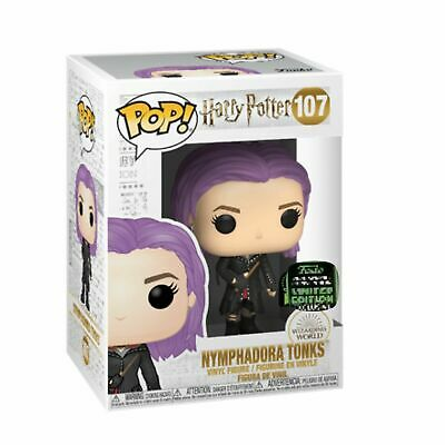 Funko POP HARRY POTTER: TONKS #107 ECCC 2020 Shared Exclusive PREORDER