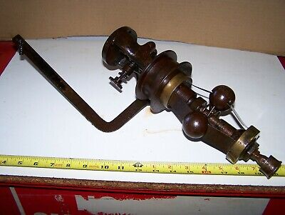 Old PICKERING Horizontal Gas Prairie Tractor Governor Steam Tractor Hit Miss WOW