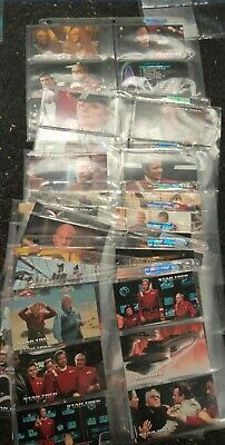 Complete set of Star Trek Generations movie. Has Limited addition cards