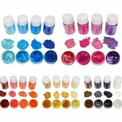 20 Colors Luminous Powder Resin Pigment Dye UV Resin Epoxy DIY Making Jewelry CN