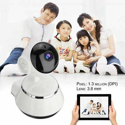 720P HD Wireless Wifi IP Camera 3.6mm Lens Monitor Camera Support Night TN
