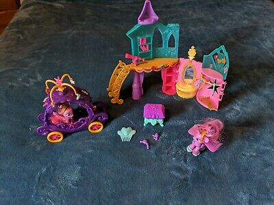 My Little Pony Crystal Princess Castle Playset Twilight Sparkle with carriage