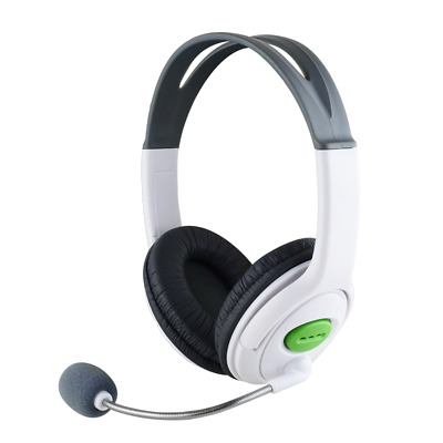 Gaming Chat Headset Headphone with MIC Microphone Volume control for Xbox 360 AU