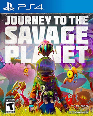 Ps4 Adventure-Journey To The Savage Planet (Us Import) Ps4 New