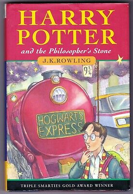 HARRY POTTER & THE PHILOSOPHER'S STONE 1st edition UK HB Hardback 1997 - 40th