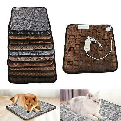 Electric Pet Heating Pad Super Warm Heating Waterproof Dog Cushion Pet Favo F3D0