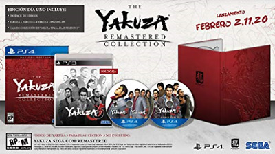 Ps4 Rpg-Yakuza Remastered Collection Day One Edition (Us Import) Ps4 New