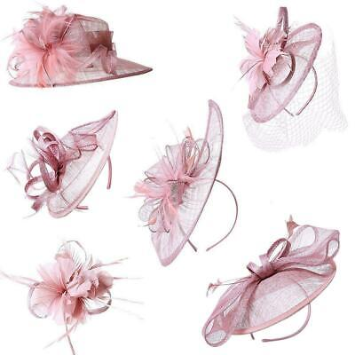New Large Aliceband Fascinator Wedding Ladies Day Races Royal Ascot Headband Hat