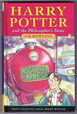 HARRY POTTER & THE PHILOSOPHER'S STONE 1st edition UK HB Hardback 1997 28th - F