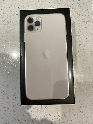 Apple iPhone 11 Pro Max - 64GB - Silver (O2) BRAND NEW SEALED
