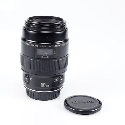 Canon EF 100 mm /1:2,8 Macro 1.Modell (ohne USM) sehr guter Zustand