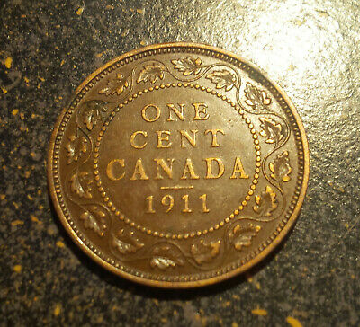 1911 Canada Large Cent - P1911-11
