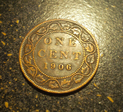 1906 Canada Large Cent - P1906-18