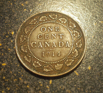 1914 Canada Large Cent - P1914-14