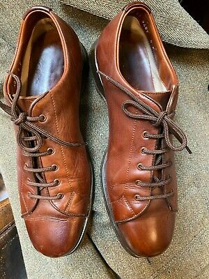 Mens Church's Brown Leather Shoes Uk 8 F
