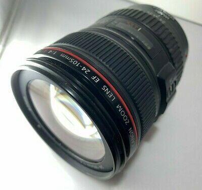 ➔ Canon EF 24-105mm f/4.0 IS USM L Lens *Tested* *AS-IS*