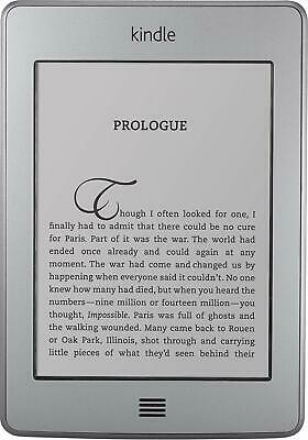 Amazon Kindle Touch - 4th Generation - Wi-Fi + 3G - 4GB - 6in - Tablet E-Reader