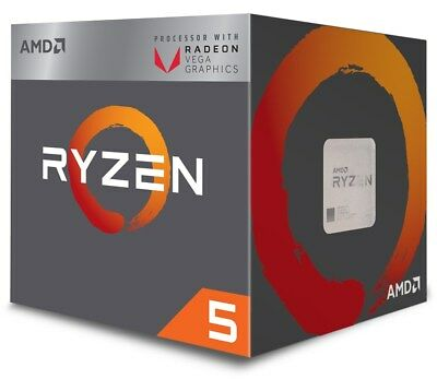 Amd Ryzen 5 2400G 3.6GHz Quad Core AM4 CPU