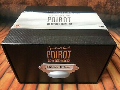 Agatha Christie POIROT The Complete Collection CASE FILES DVD BOXSET All 61 eps
