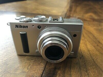 Nikon COOLPIX A  DX  aps-c 16.2MP Digital Camera - Silver