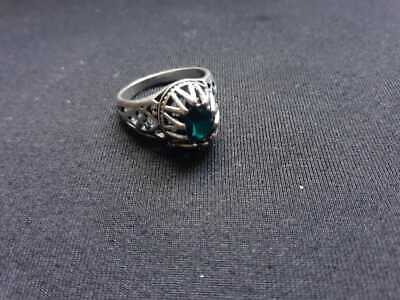 Ancient VIKING Metal Color Silver Ring artifact EXTREMELY RARE