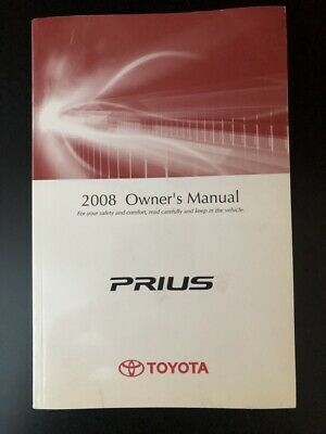2006 Toyota Prius Owners Manual User Guide Reference Operator Book Fuses Fluids