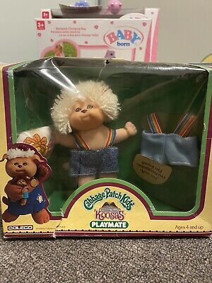 Cabbage Patch Kid 1984 OAA Koosas Playmate Mini NIB - HTF And Highly Collectible