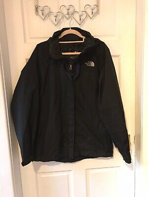 Ladies The North Face Jacket Size M 10 12 Black Waterproof Gore Tex