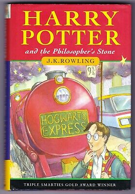HARRY POTTER & THE PHILOSOPHER'S STONE 1st edition UK HB Hardback 1997 27th VG+