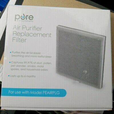 NEW- Air Purifier Filter 3-in-1 True HEPA- Pure Enrichment