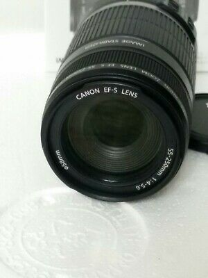 Canon EF-S 55-250mm f/4-5.6 is Image Stabilizer Telephoto Zoom Lens pre owned