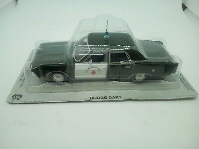 Modelcar 1:43 -  Police cars of the world series - DODGE DART