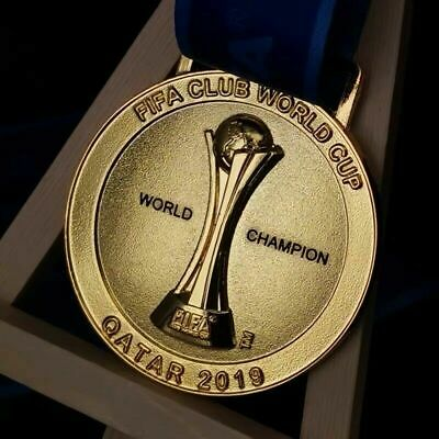 UK STOCK!!!! Club World Cup 2019 Champions Liverpool Winner Medal Gift Replica