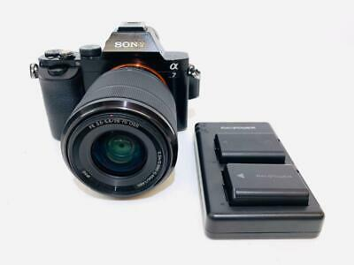 SONY Alpha a7 24.3MP Mirrorless Digital Camera with 28-70mm Lens Shutter 683